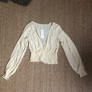 NEW WITH TAGS urban outfitters v neck blouse